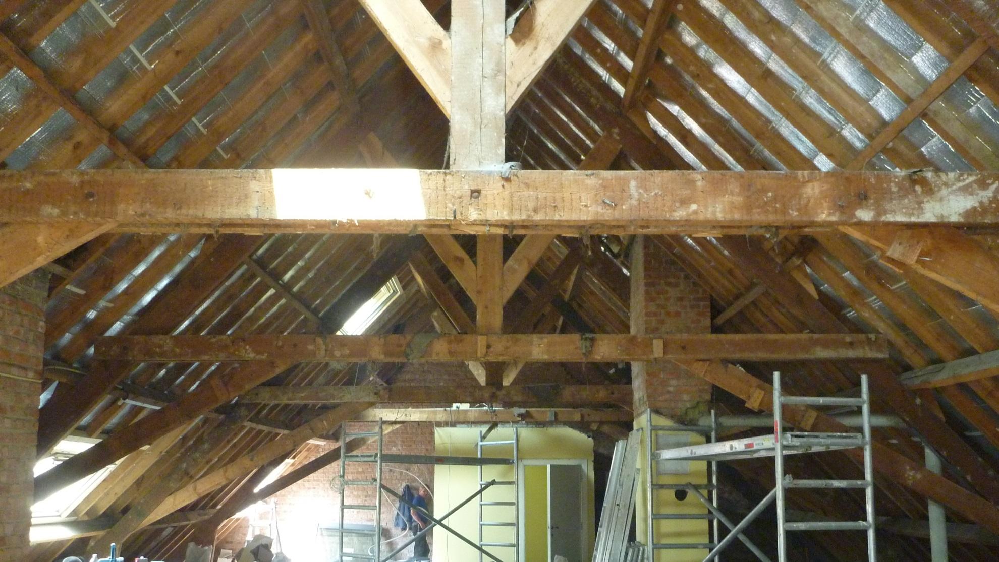 Aca renovation am nagement de grenier transformation de for Agrandissement maison grenier